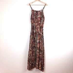 Free People Floral Patterned Maxi Dress